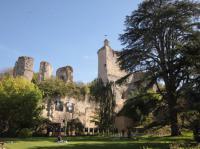 Parc et vestiges du Chateau de Vendome Loir et Cher