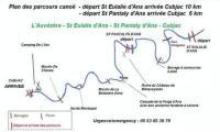 Idée de Sortie Sainte Eulalie d'Ans Camping de l'Ilot - location de canoë