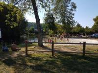 Idée de Sortie Champagnac de Belair Plage surveillée dans la rivière Dronne