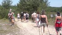 Idée de Sortie Savignac les Églises Marche Nordique et fitness sur le Causse de Savignac