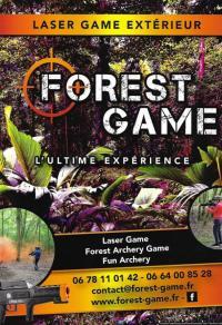 Idée de Sortie Mesnil Sellières FOREST GAME: LASERGAME EXTERIEUR