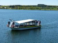 Idée de Sortie Arvieu Bateau-promenade Le Papillon Jaune sur le lac de Pareloup