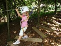 Idée de Sortie Prades Salars Grimpe et Cimes - Parcours acrobatique - Quick Jump