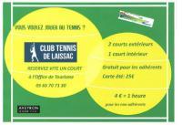 Idée de Sortie Laissac Location de courts de tennis