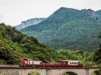 Idée de Sortie Campagna de Sault TRAIN ROUGE - TRAIN DU PAYS CATHARE ET DU FENOUILLEDES (TPCF)