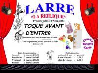 Idée de Sortie Morbihan Théâtre Toqué avant d'entrer