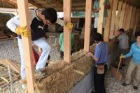 Idée de Sortie Neuillay les Bois Rendez-vous de la construction paille : visite accompagnée par Dany Chiappero, architecte du Parc