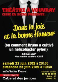 Idée de Sortie Montlouis sur Loire Théâtre avec Cisse en Scène
