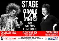 Idée de Sortie Le Poinçonnet Stage de Clown et d'impro théâtrale