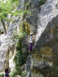 Idée de Sortie Mâron Escalade dans la carrière de Bois-Ramier