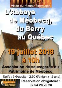 Idée de Sortie Neuillay les Bois L'abbaye de Méobecq, du Berry au Quebec