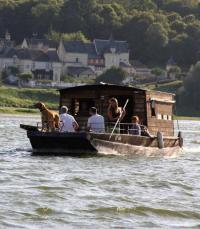 Idée de Sortie Savigny en Véron Balade en bateau traditionnel sur la Vienne et la Loire
