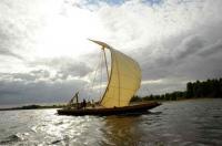 Idée de Sortie Saint Dyé sur Loire Balade en bateau traditionnel sur la Loire avec les Marins du Port de Chambord