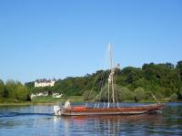 Idée de Sortie Vallières les Grandes Balade en bateau traditionnel sur la Loire avec Millière Raboton