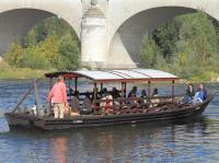 Idée de Sortie Chambray lès Tours Balade en bateau sur la Loire - Boutavant