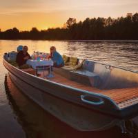 Idée de Sortie Loir et Cher Balade en bateau sur la Loire #aperobato