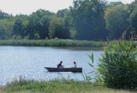 Idée de Sortie Loiret Balade en barque au château de la Bussière