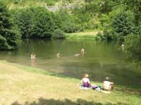 Idée de Sortie Grèzes Baignade dans la rivière Célé à Marcilhac sur Célé