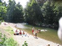 Idée de Sortie Saint Chels Baignade dans la rivière Célé à Sauliac sur Célé