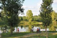 Idée de Sortie Souprosse Autour des lacs de Nerbis... Balade et pêche