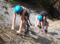 Idée de Sortie Laruns Un jour en montagne - Via Ferrata