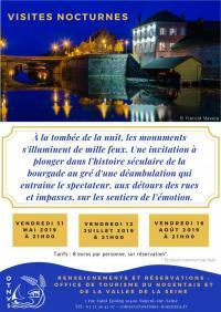 Idée de Sortie Saint Aubin Visite nocturne