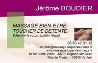 Idée de Sortie Gard Massage bien-être et toucher de détente