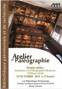 Idée de Sortie Midi Pyrénées Atelier Paléographie à la Bibliothèque Patrimoniale