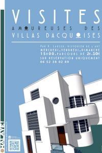 Idée de Sortie Landes Visites amoureuses des villas dacquoises