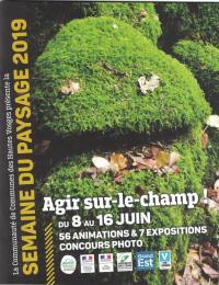 Idée de Sortie Cornimont SEMAINE DU PAYSAGE - DU CHAMP AU CHANT, ÉLOGE D'UN JARDIN