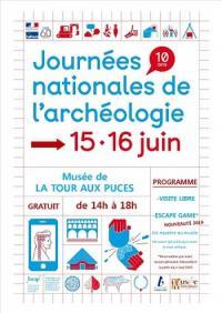 Idée de Sortie Manom JOURNÉES NATIONALE DE L'ARCHÉOLOGIE - MUSÉE DE LA TOUR AUX PUCES