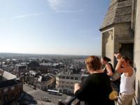 Idée de Sortie Saint Quentin Les hauteurs de la Basiliqueen journée : la Ville vue d'en haut