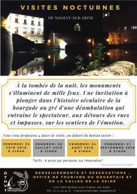 Idée de Sortie Saint Aubin VISITES NOCTURNES