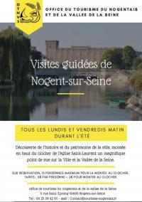 Idée de Sortie Saint Aubin VISITES GUIDEES DE NOGENT-SUR-SEINE