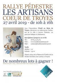 Idée de Sortie Champagne Ardenne Rallye pédestre Les Artisans Coeur de Troyes