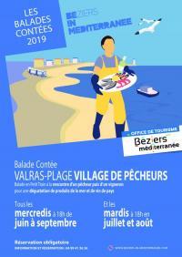 Idée de Sortie Languedoc Roussillon BALADE CONTÉE : VALRAS-PLAGE VILLAGE DE PÊCHEURS