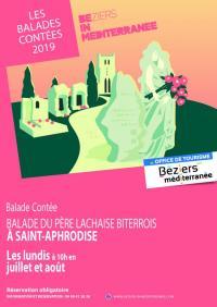 Idée de Sortie Languedoc Roussillon BALADE CONTÉE : DU PÈRE LACHAISE BITERROIS À SAINT-APHRODISE