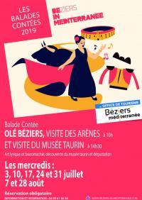Idée de Sortie Languedoc Roussillon OLÉ BÉZIERS: VISITE DES ARÈNES