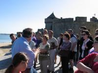 Idée de Sortie Ille et Vilaine Visite guidée estivale de la cité corsaire