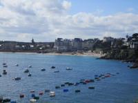 Idée de Sortie Bretagne Visite guidée : Saint-Lunaire, un rêve balnéaire
