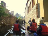 Idée de Sortie Bretagne Visite guidée en canoë - Montfort-sur-Meu au crépuscule
