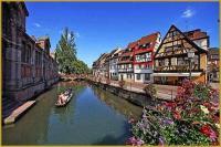 tourisme Thannenkirch Sur les Quais de Colmar avec parking