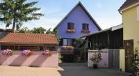 tourisme Ebersheim Résidence jaune et rose