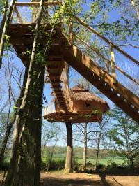 Location de vacances Marolles lès Bailly Location de Vacances Les Cabanes au Bois d'Orient
