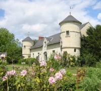 Location de vacances Candes Saint Martin Location de Vacances Le Manoir de Champfreau