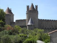 tourisme Villegailhenc Vue sur Cité