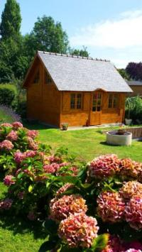 Location de vacances Sartilly Location de Vacances Mont Saint Michel Chalet