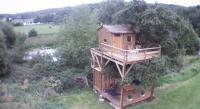 Gîte Angerville la Martel Gîte Cabane Perchée dans la prairie de l'ancien moulin