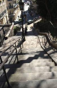 gite Paris 11e Arrondissement Montmartre : parvis du Sacré coeur
