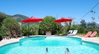 tourisme Utelle Villa Côte d'Azur piscine privée